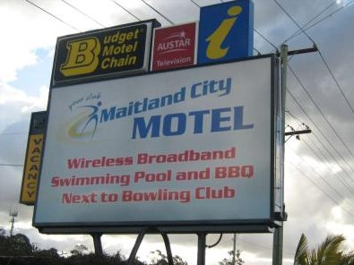 Maitland City Motel - Tourism Brisbane