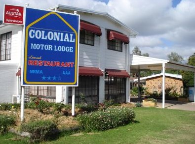 Colonial Motor Lodge - Tourism Brisbane