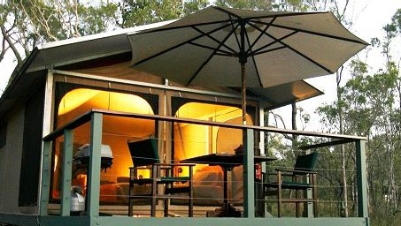 Jabiru Safari Lodge at Mareeba Wetlands - Tourism Brisbane