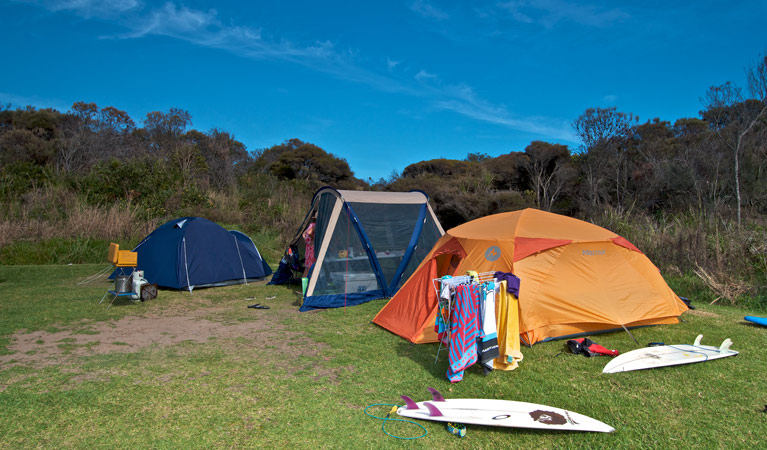 Frazer campground - Tourism Brisbane