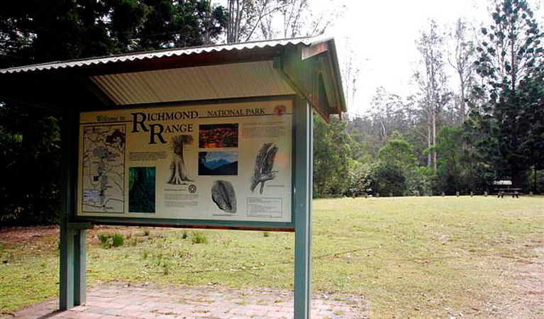 Peacock Creek campground - Tourism Brisbane