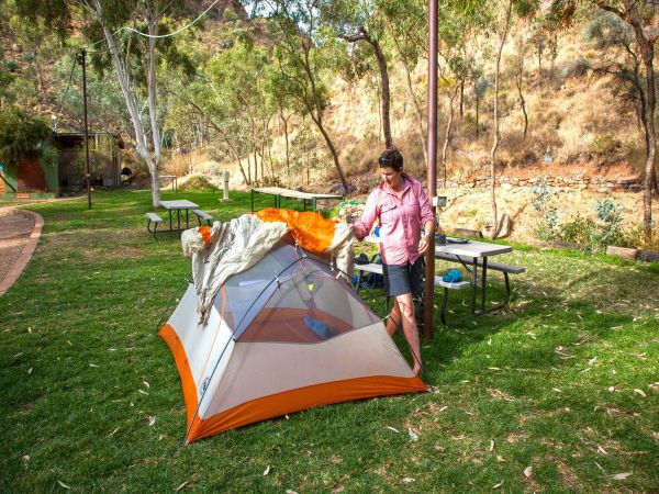 Standley Chasm Angkerle Camping - Tourism Brisbane