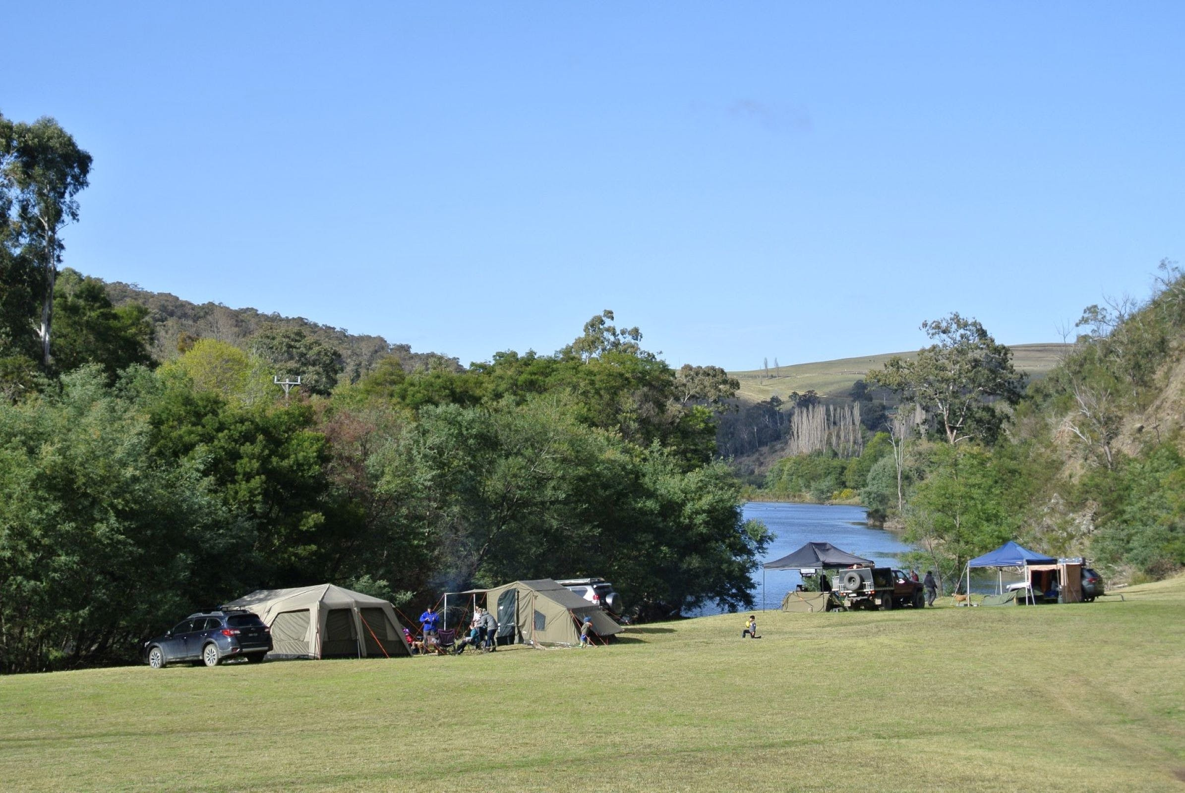Montana on the Macalister Campground  Caravan Park - Tourism Brisbane