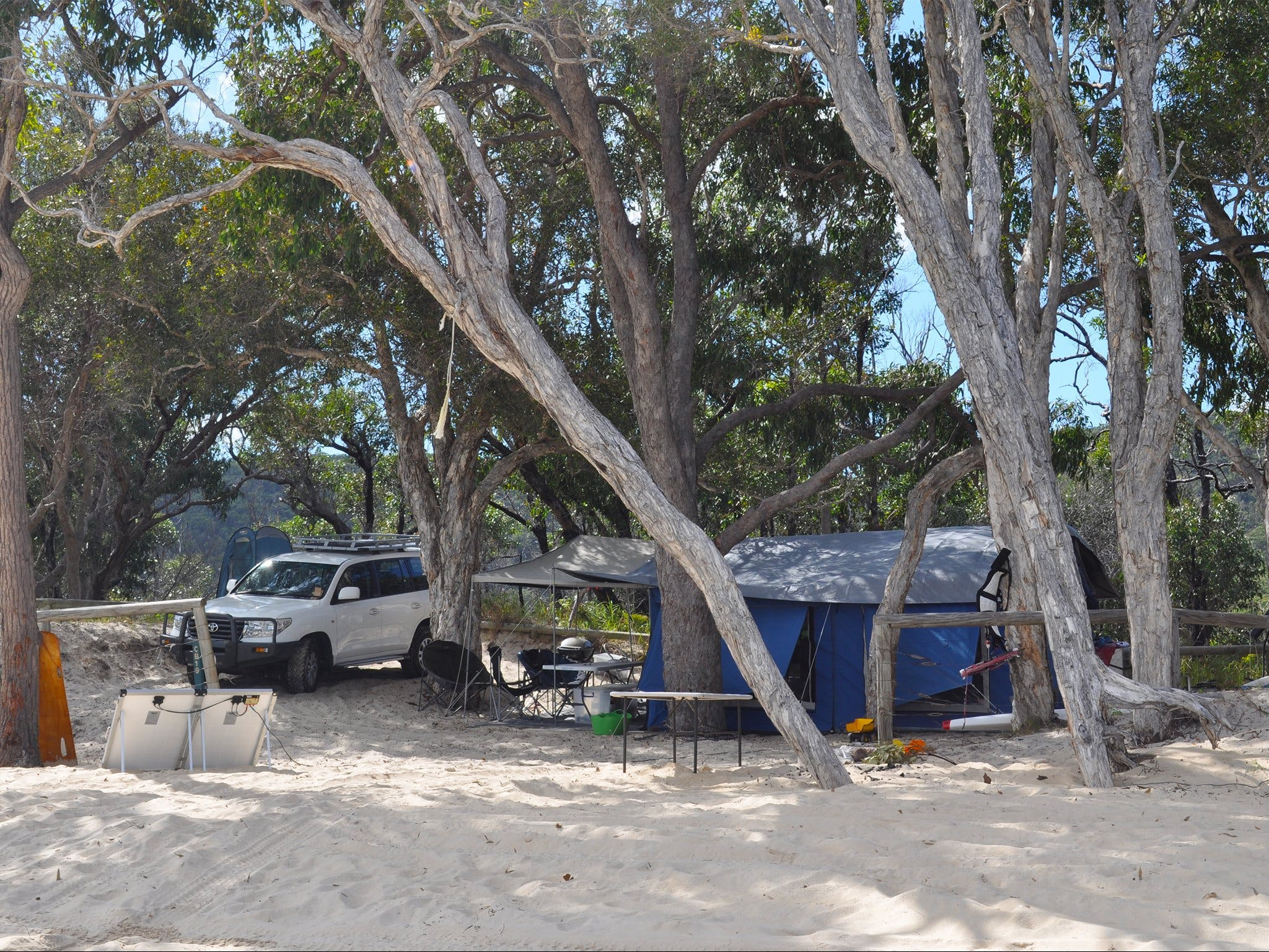 Moreton Island National Park and Recreation Area camping - Tourism Brisbane