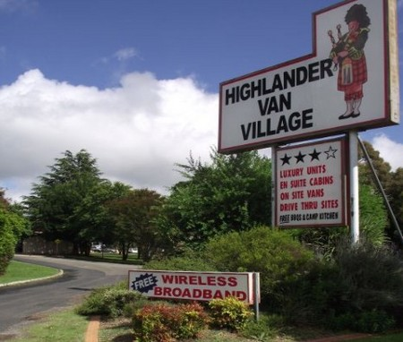 Highlander Van Village - Tourism Brisbane