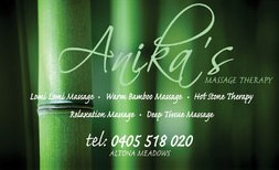 Anikas Massage Therapy - Tourism Brisbane