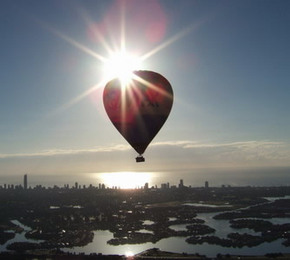 Balloon Down Under - Tourism Brisbane