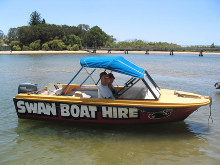 Swan Boat Hire - Tourism Brisbane