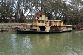 Emmylou Paddle Steamer - Tourism Brisbane
