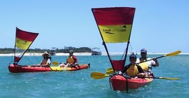 Kayak Noosa - Tourism Brisbane