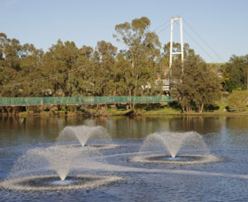 Suspension Bridge - Tourism Brisbane