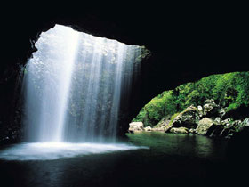 Natural Bridge Springbrook National Park - Tourism Brisbane