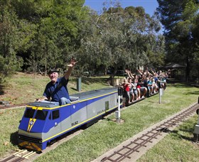 Willans Hill Miniature Railway - Tourism Brisbane