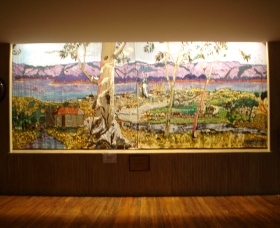 Adaminaby Memorial Hall Stage Curtain - Tourism Brisbane