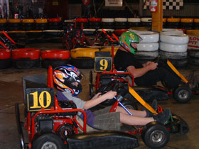 Indoor Kart Hire O'Connor