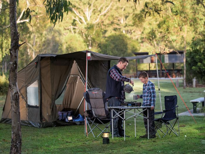 Hardings Paddock Campground - Tourism Brisbane