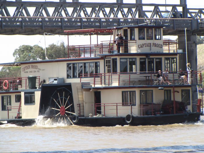 Captain Proud Paddleboat Cruises - Tourism Brisbane