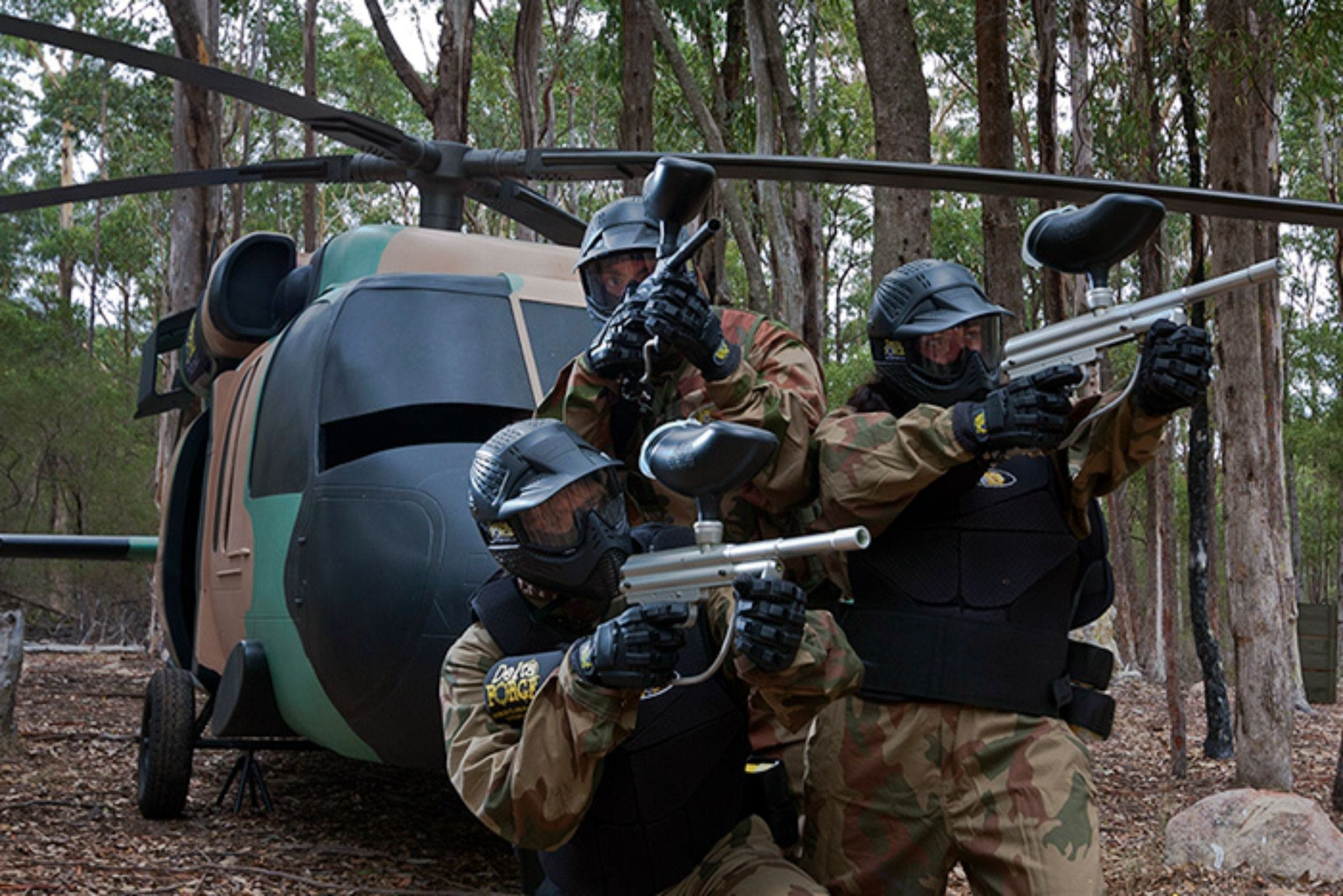 Delta Force Paintball Appin - Tourism Brisbane
