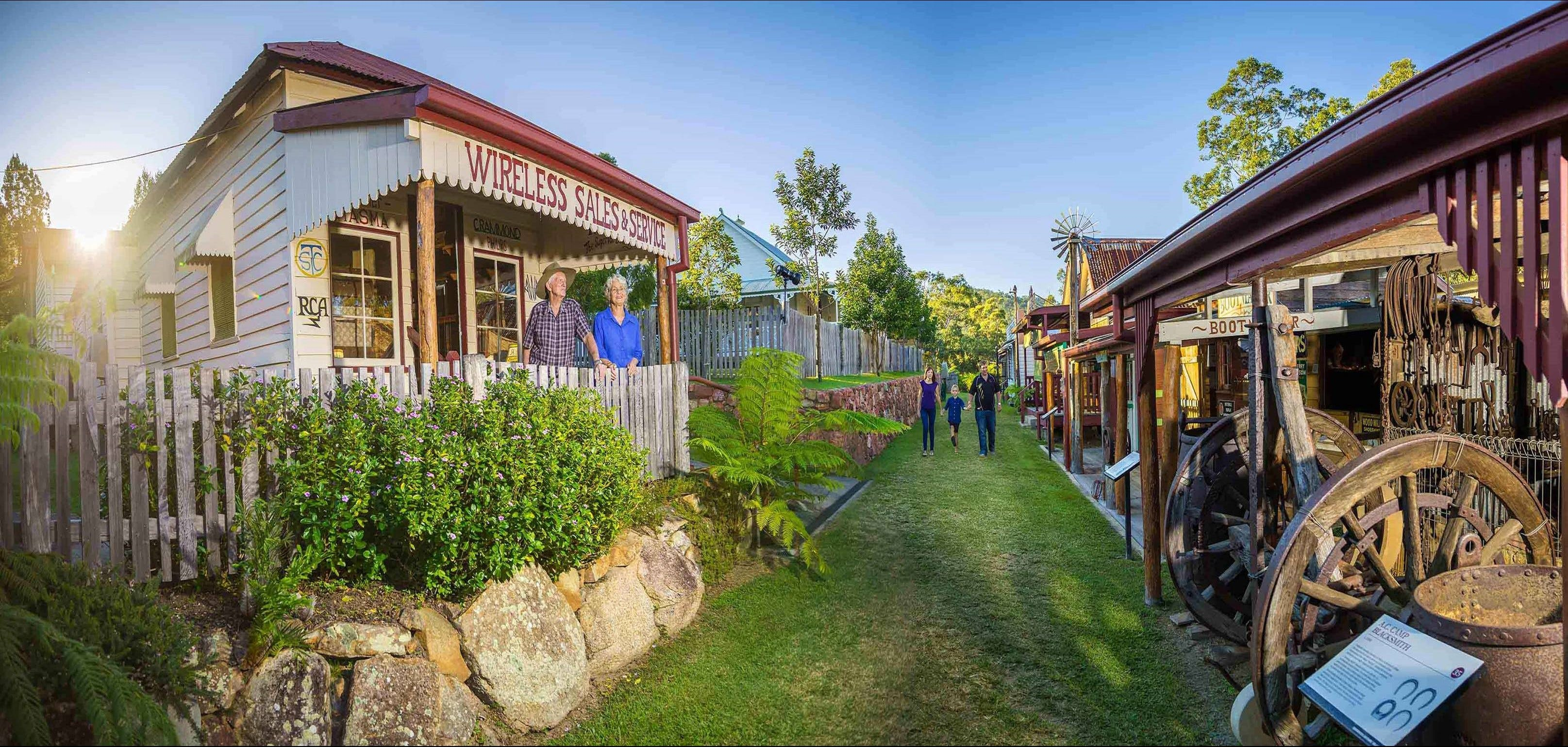 Historic Village Herberton - Tourism Brisbane