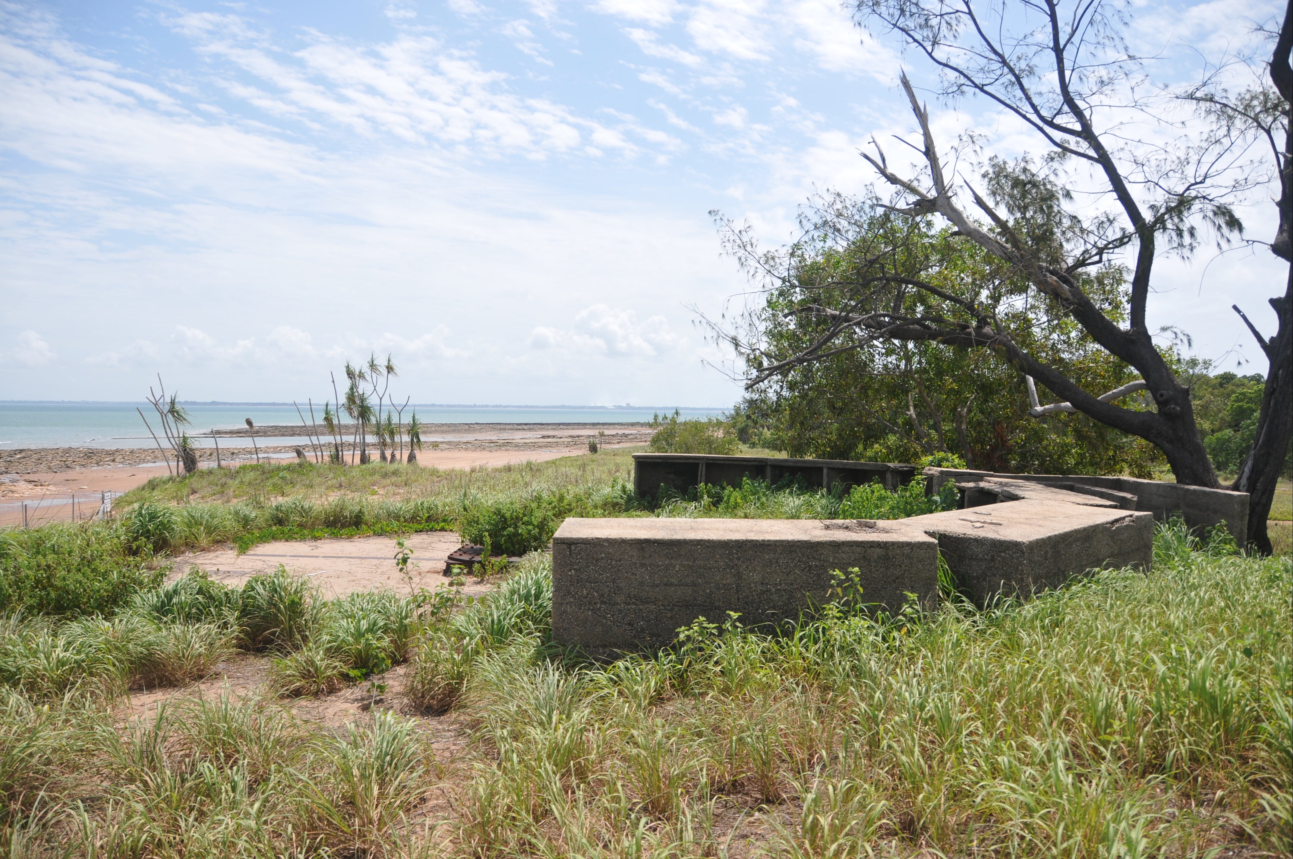 WWII Gun Emplacement Wagait Beach - Tourism Brisbane