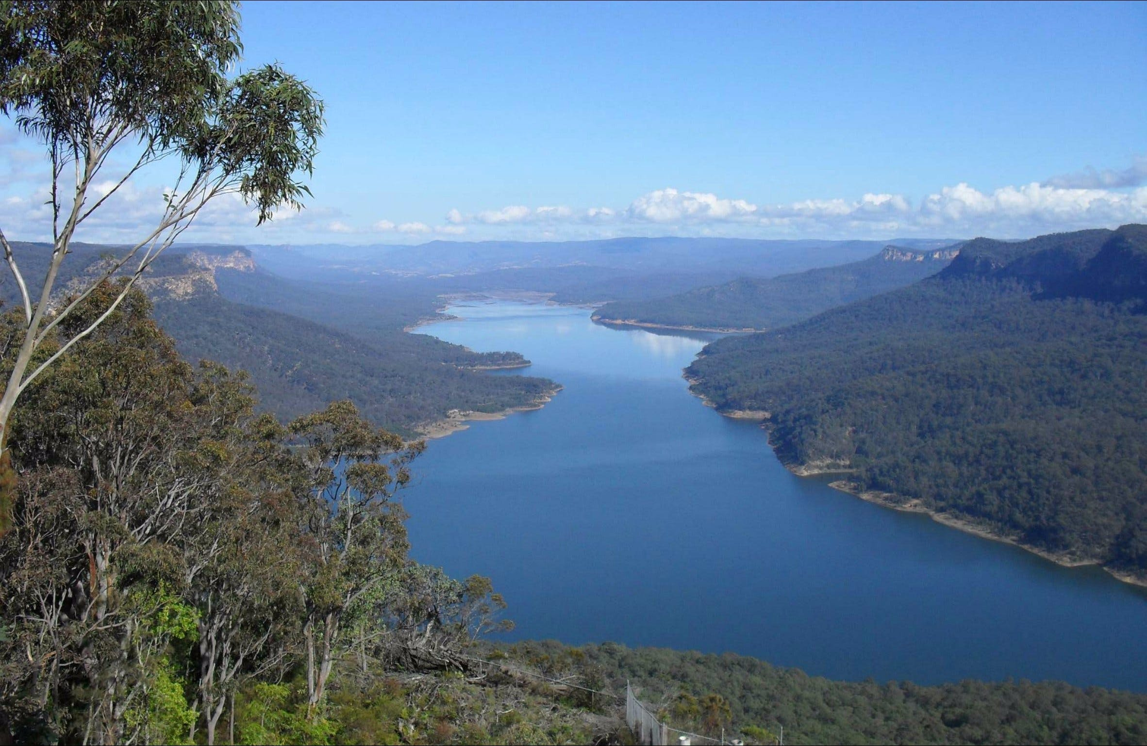 Burragorang lookout and picnic area - Tourism Brisbane