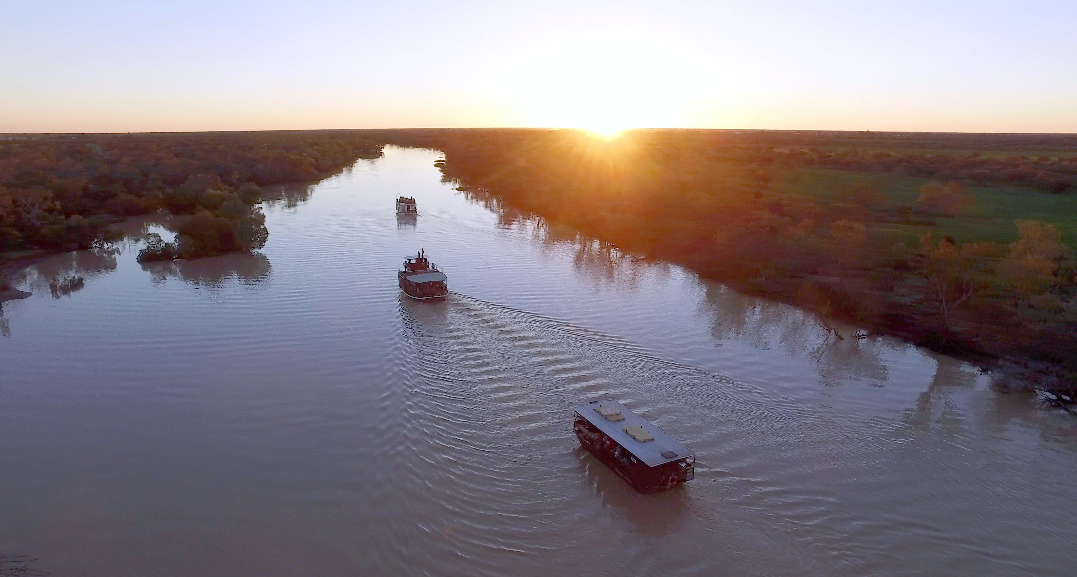 Thomson River Longreach - Tourism Brisbane
