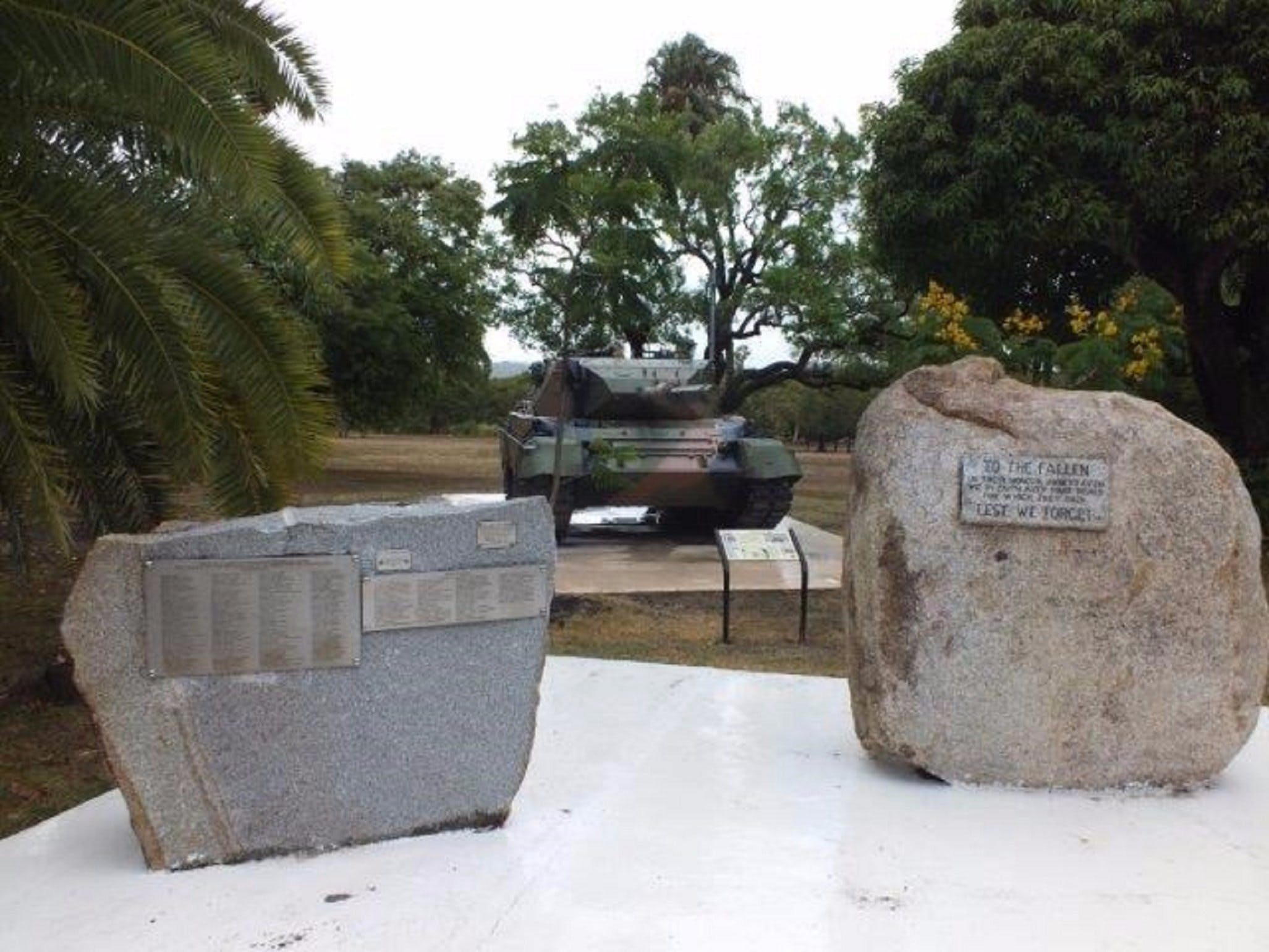 Cooktown War Memorial - Tourism Brisbane