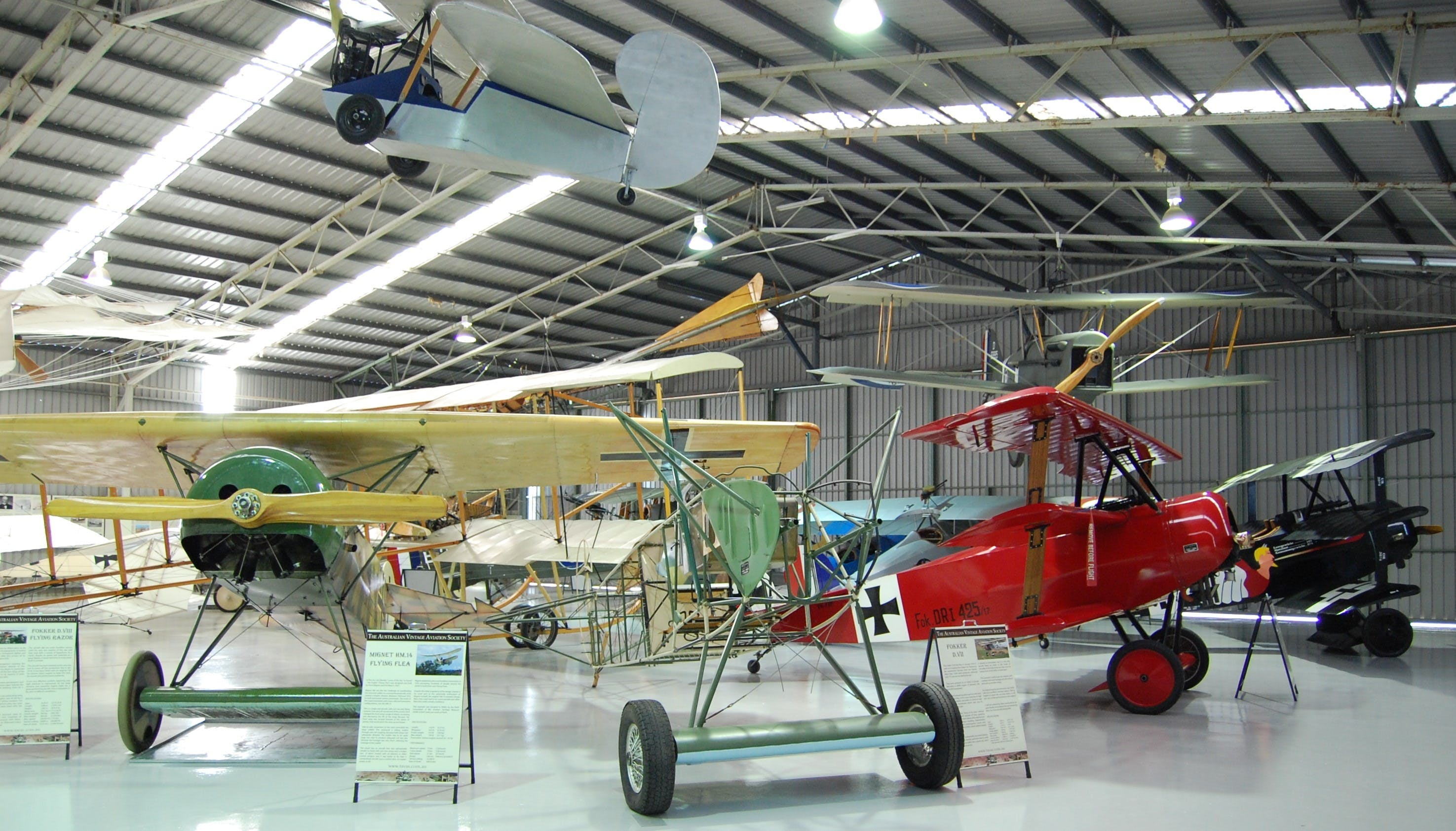 The Australian Vintage Aviation Society Museum - Tourism Brisbane