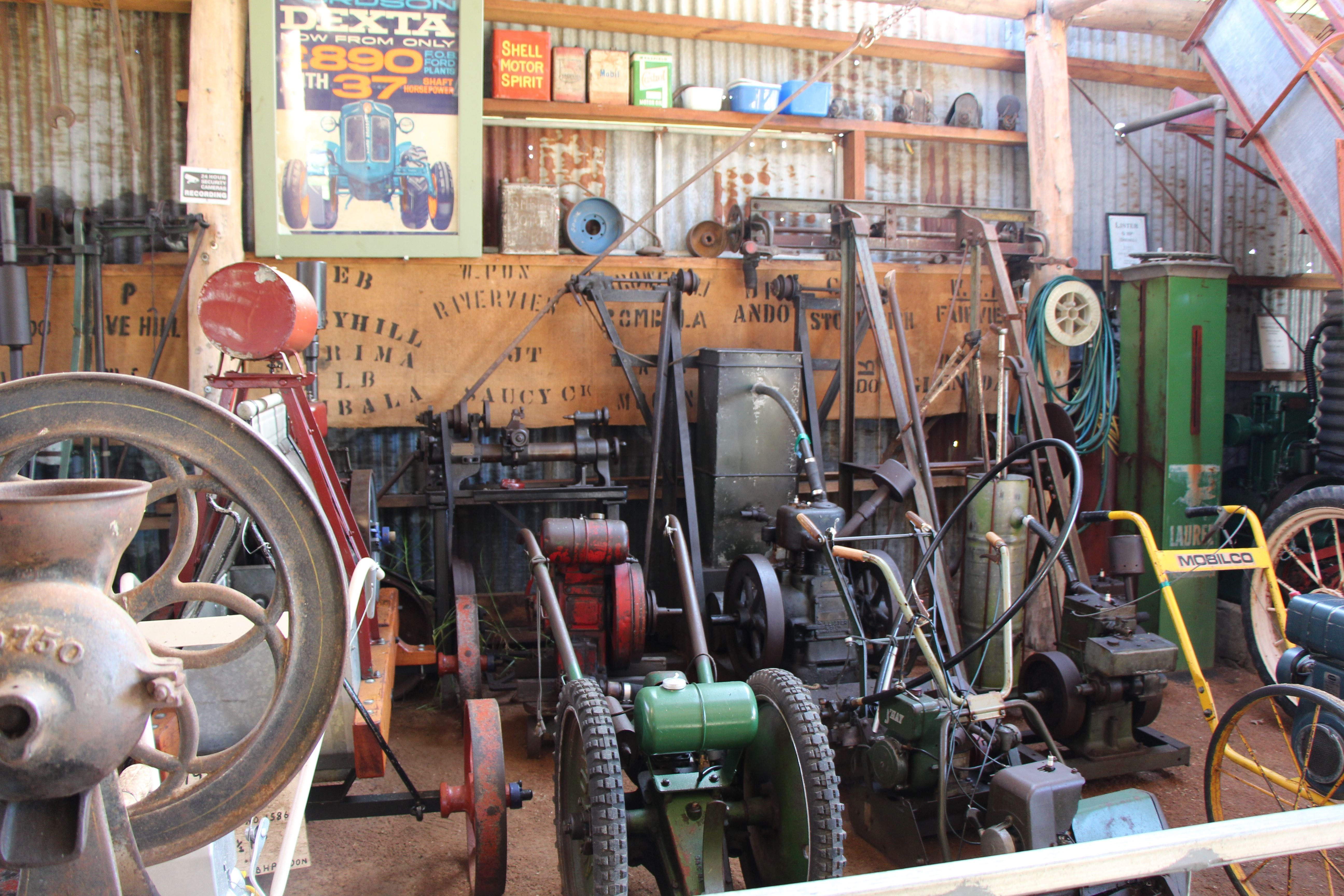Bombala Historic Engine and Machinery Shed - Tourism Brisbane