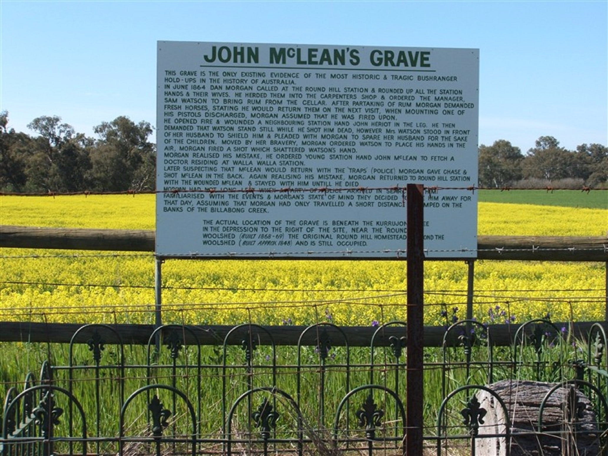 John McLeans Memorial - Tourism Brisbane
