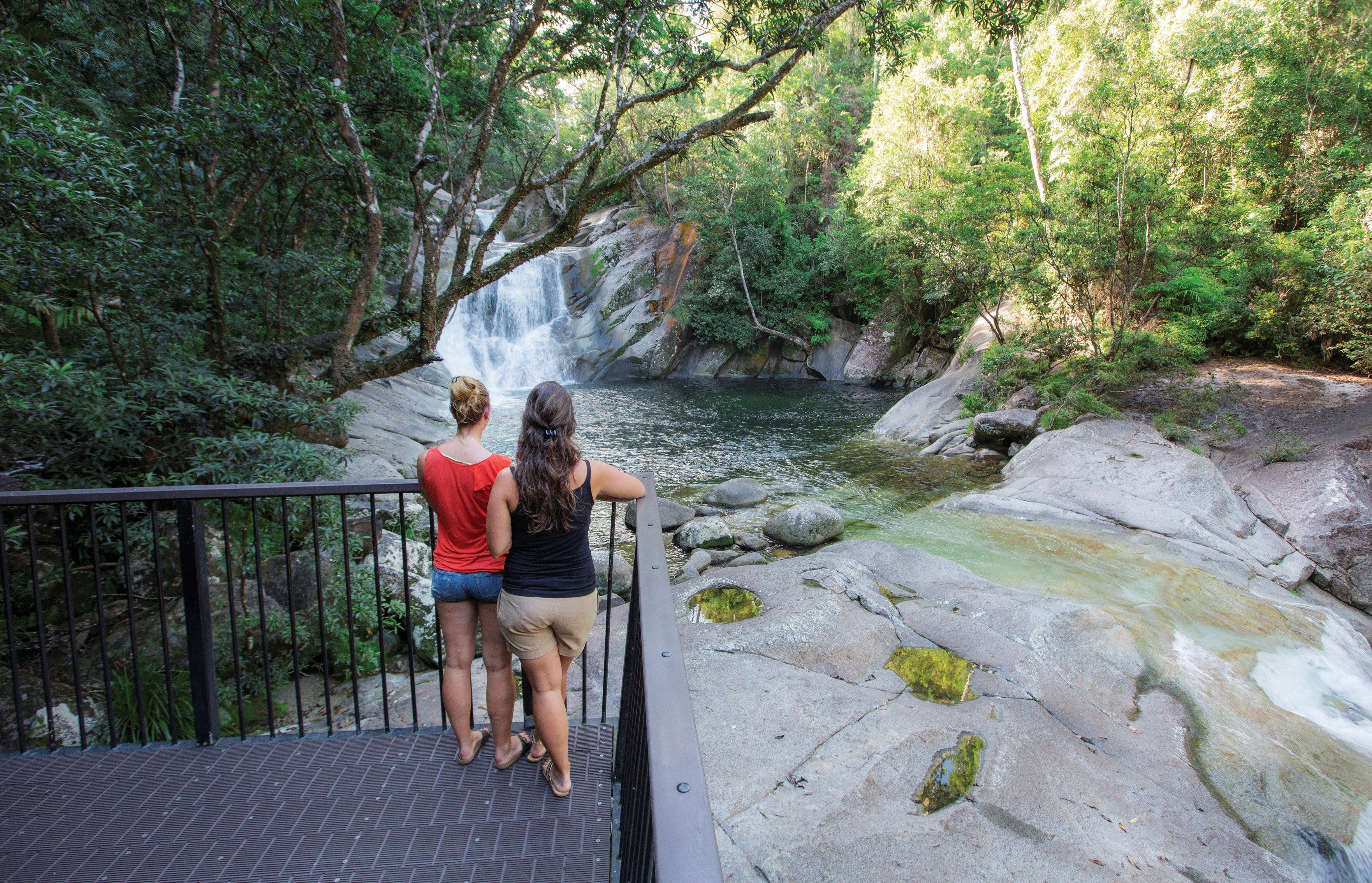 Josephine Falls walking track Wooroonooran National Park - Tourism Brisbane