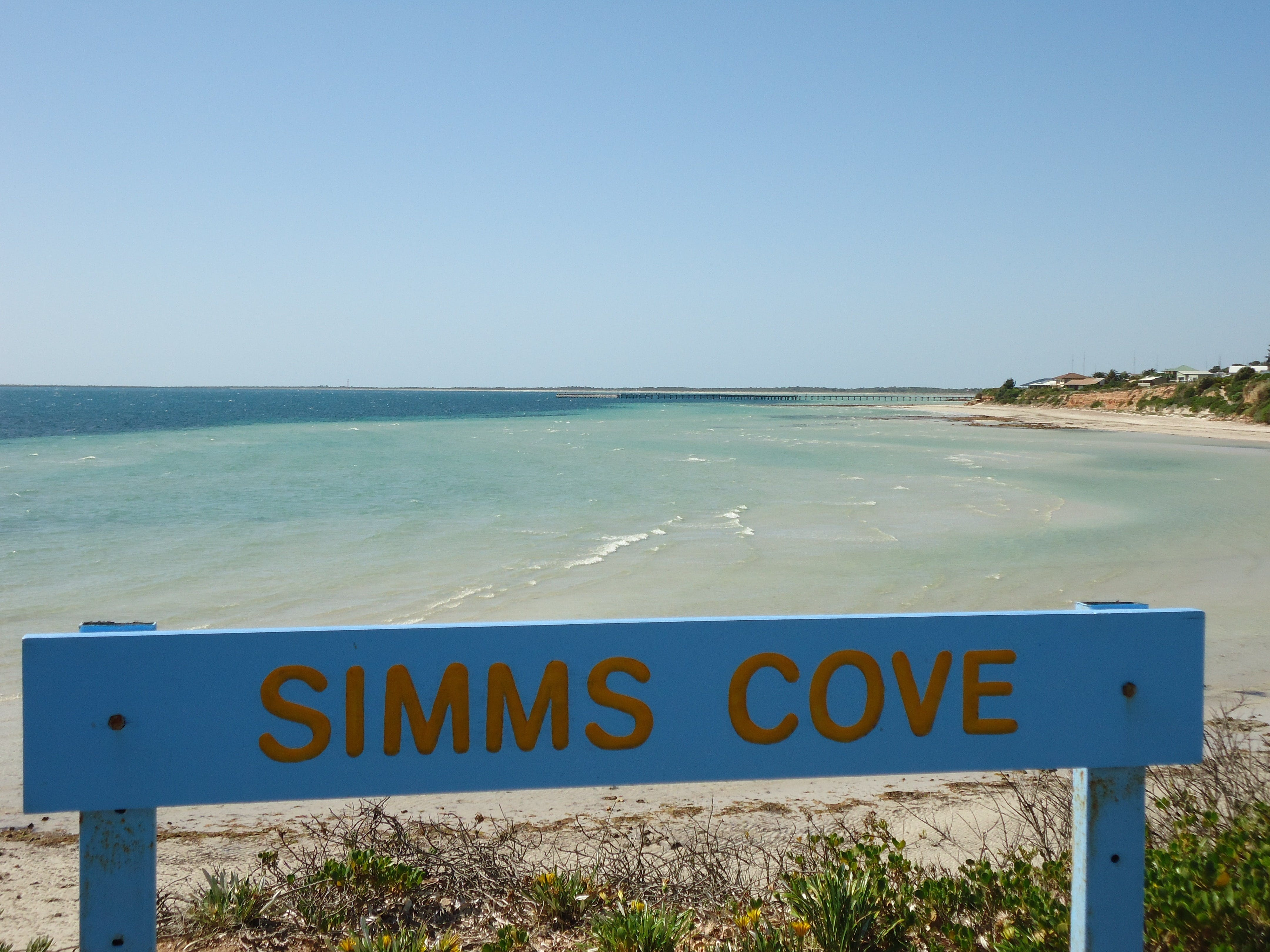 Simms Cove lookout and beach Moonta Bay - Tourism Brisbane
