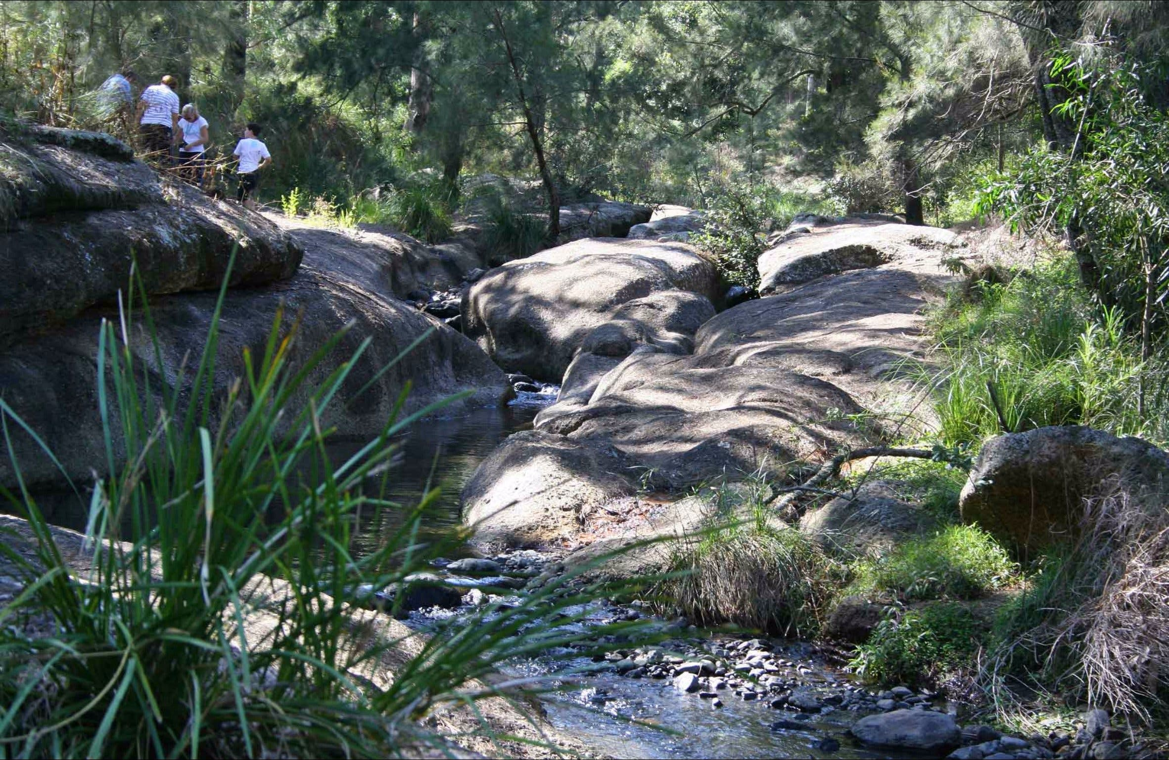 Washpools waterhole - Tourism Brisbane