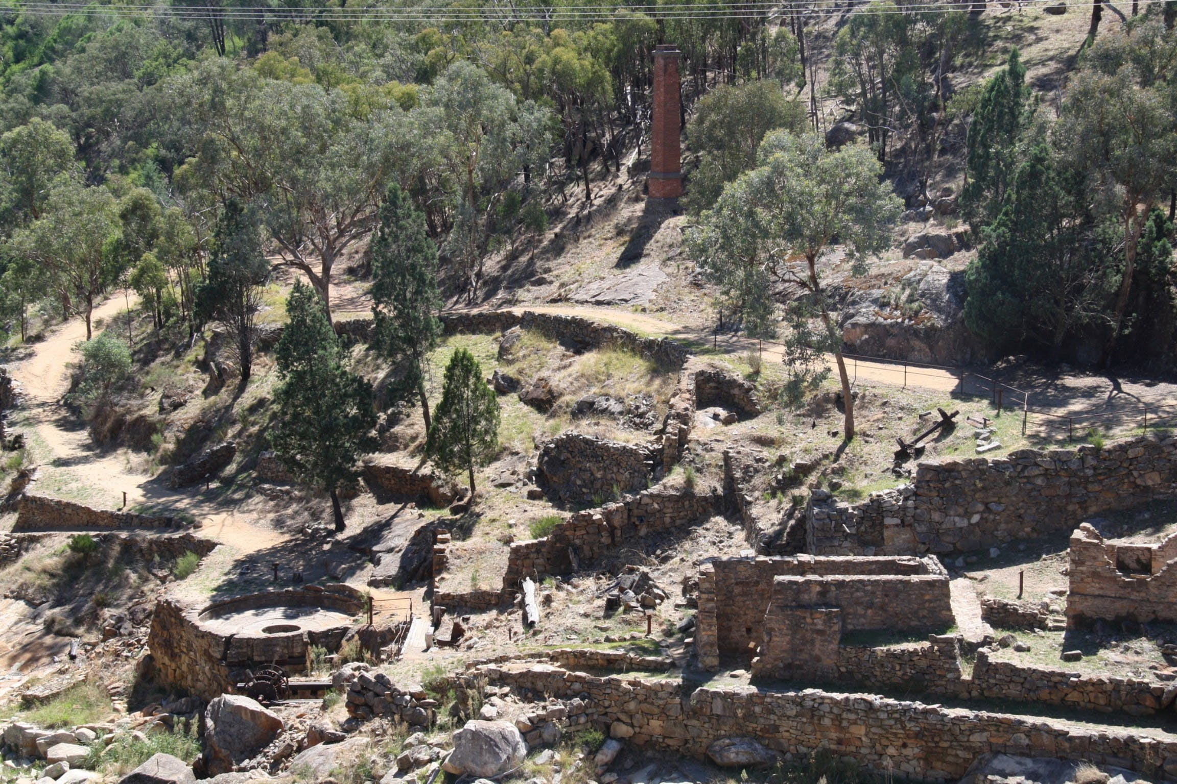 Adelong Falls Gold Mill Ruins - Tourism Brisbane