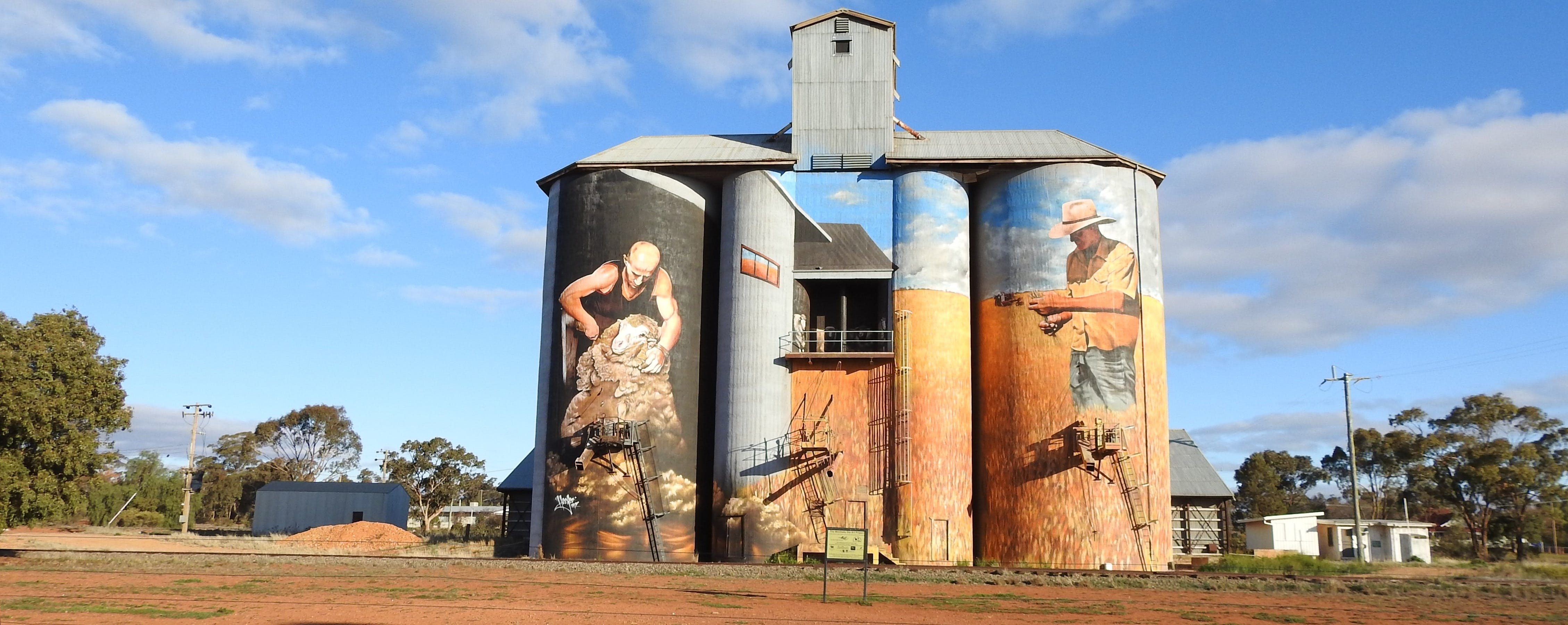 Riverina Outdoor Art Trail - Tourism Brisbane