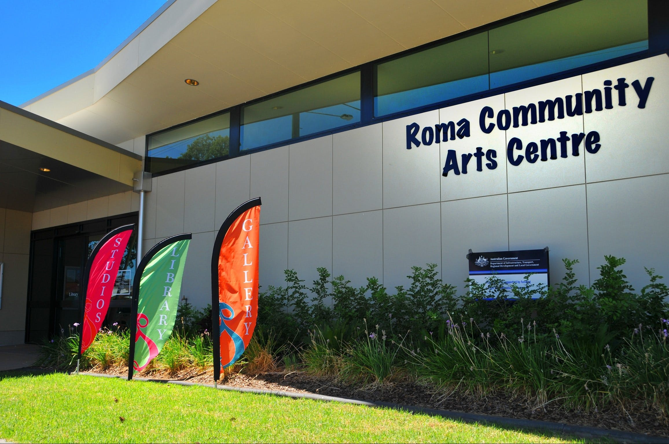 Roma on Bungil Art Gallery and the Walk of Art - Tourism Brisbane