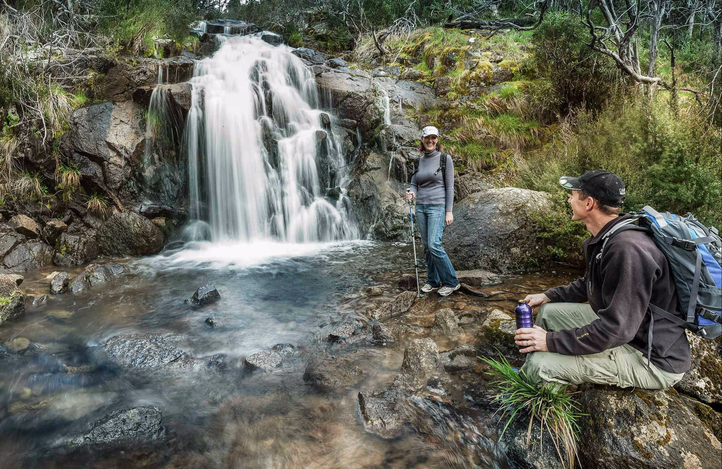 Waterfall Walking Track Kosciuszko National Park - Tourism Brisbane