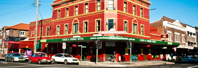 The Coach  Horses Hotel - Tourism Brisbane