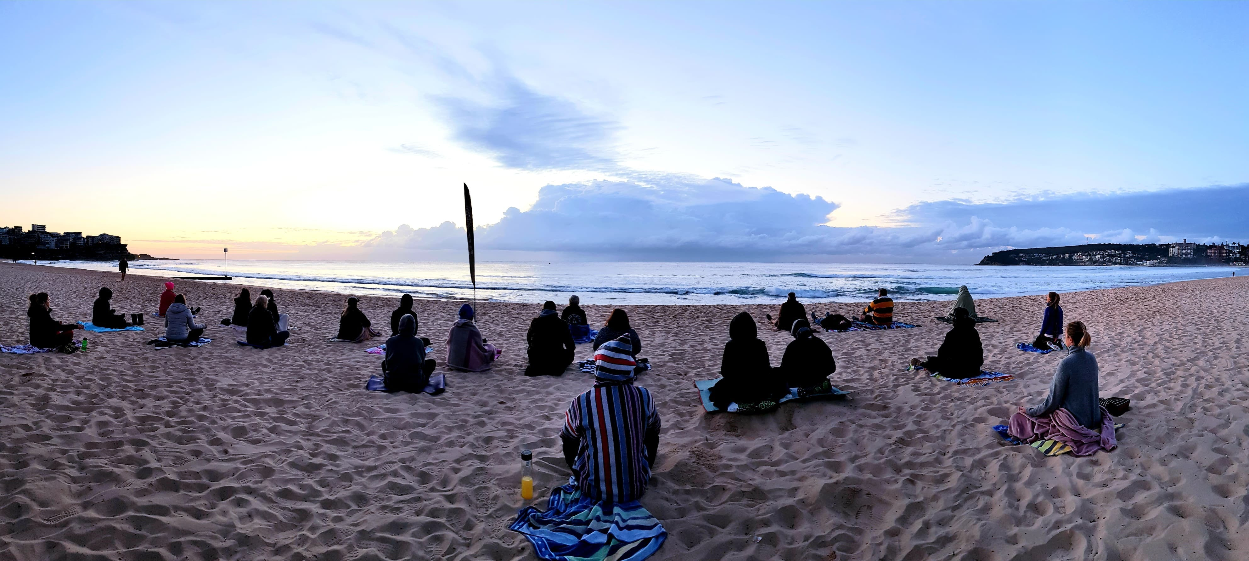 Making Meditation Mainstream Free Beach Meditation Sessions - Avalon Beach - Tourism Brisbane