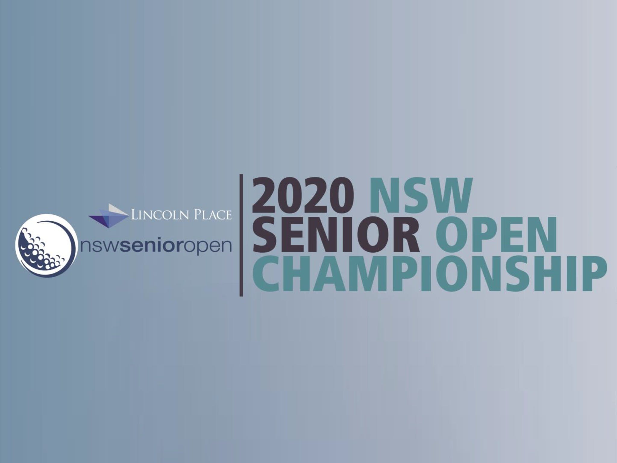 Men's NSW Senior Open - Tourism Brisbane