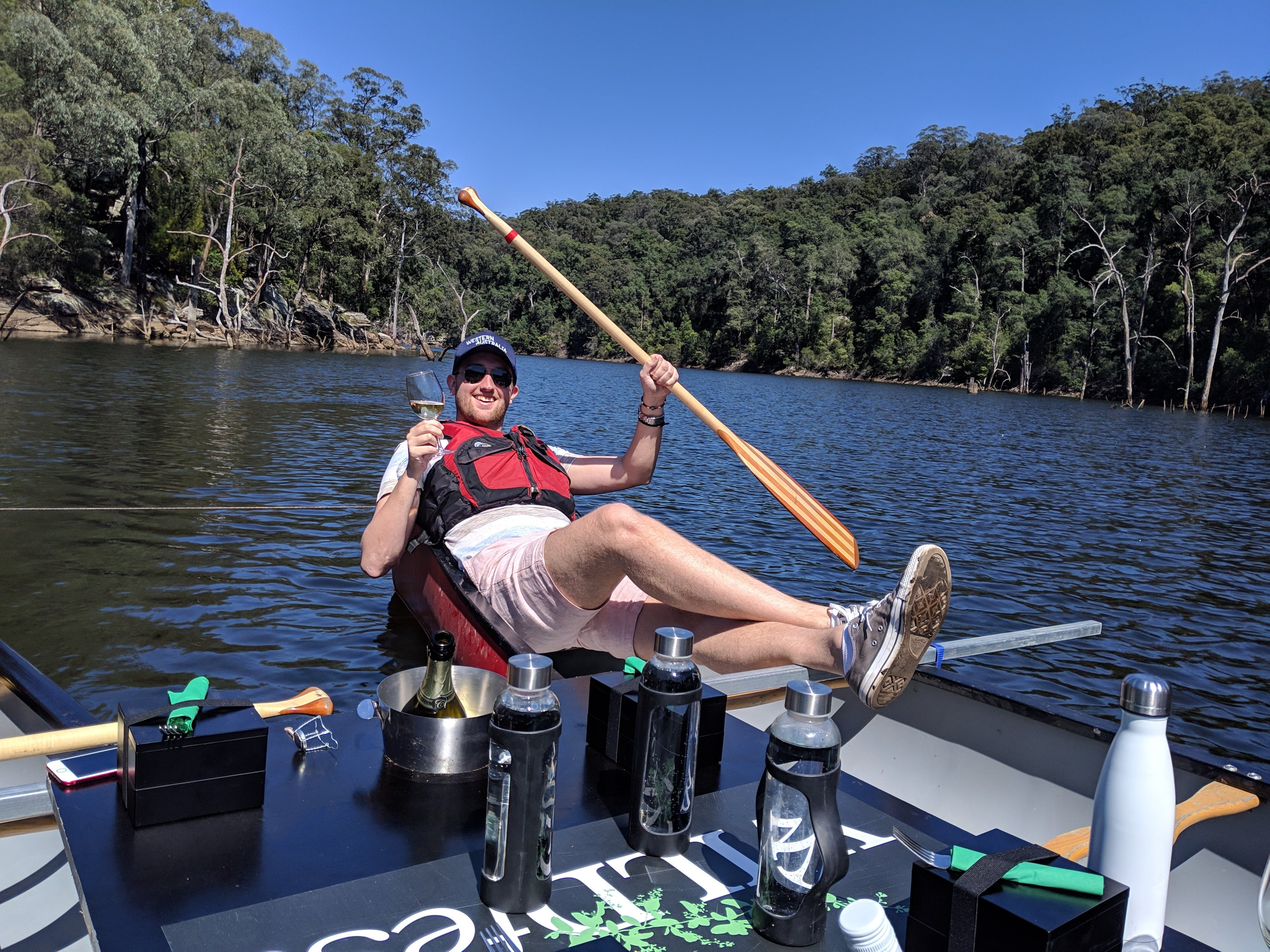 Canoes Champagne and Canaps - Tourism Brisbane