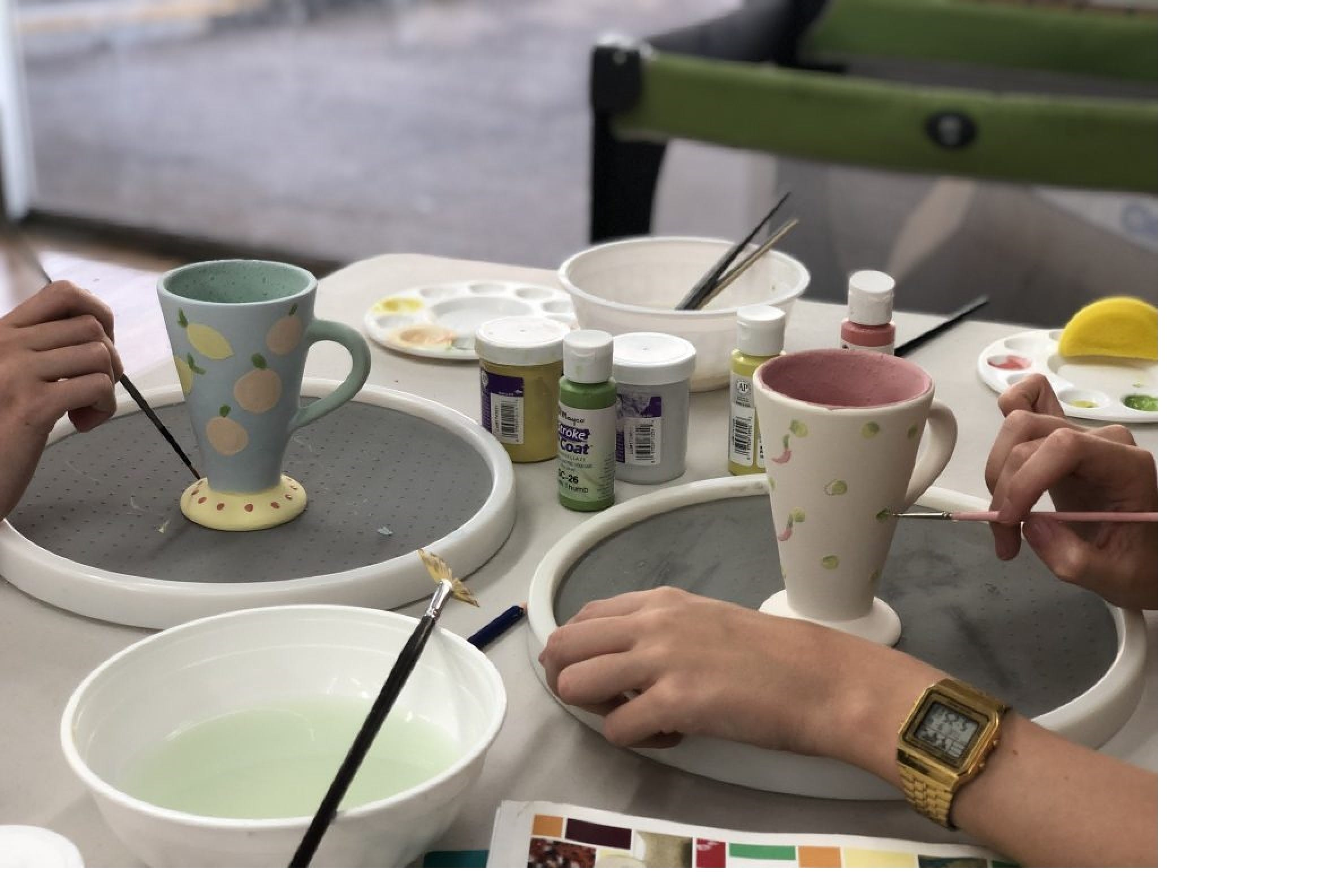 Ceramic Painting Class - Tourism Brisbane