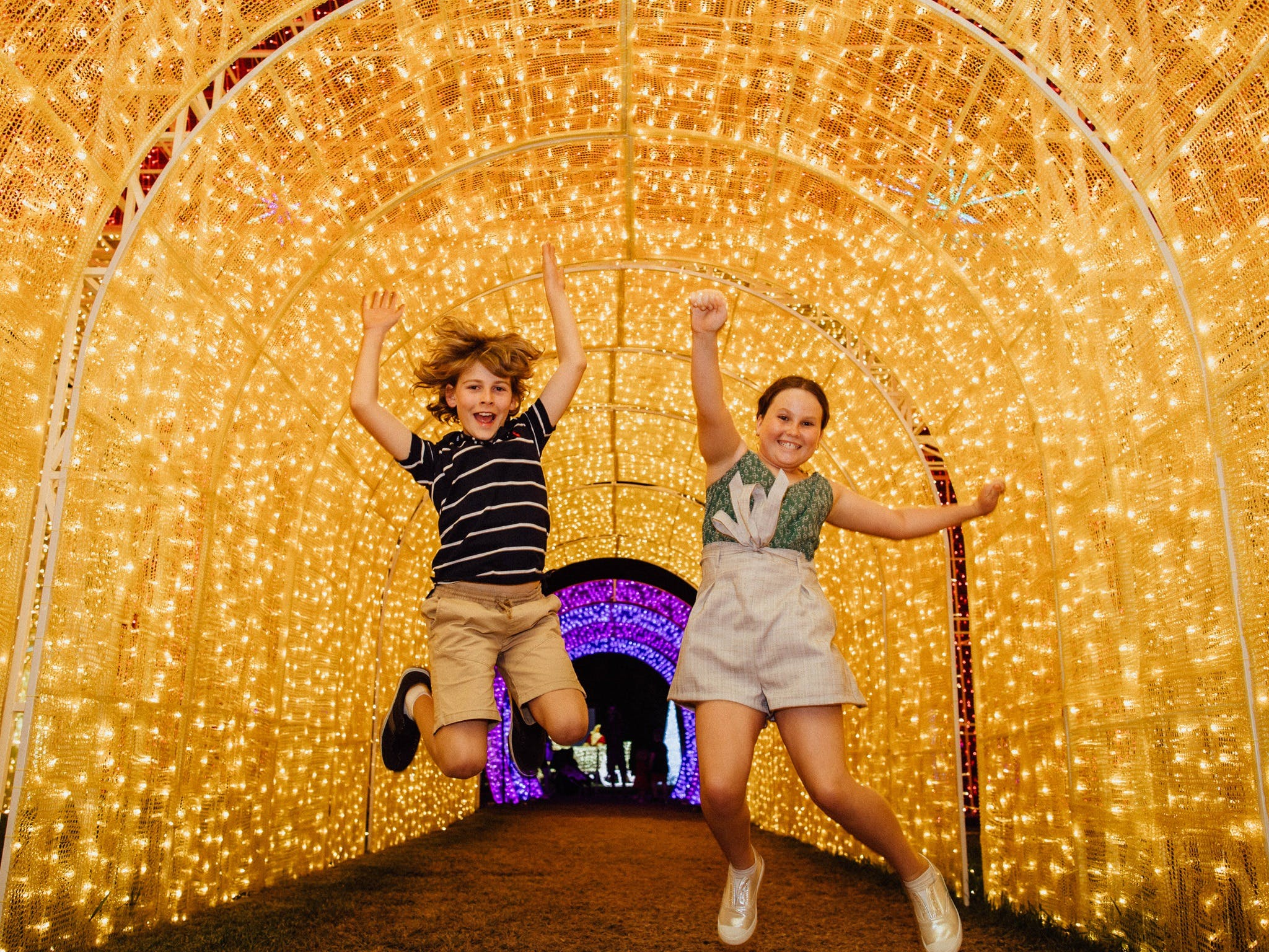 Christmas Lights Spectacular New Year's Eve at Hunter Valley Gardens - Tourism Brisbane