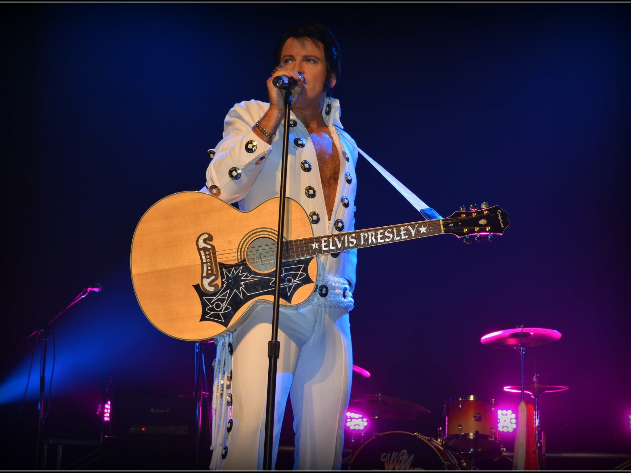 Elvis Forever - Damian Mullin 'Up Close and Personal' - Tourism Brisbane