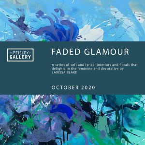 Faded Glamour - paintings by Larissa Blake - Tourism Brisbane