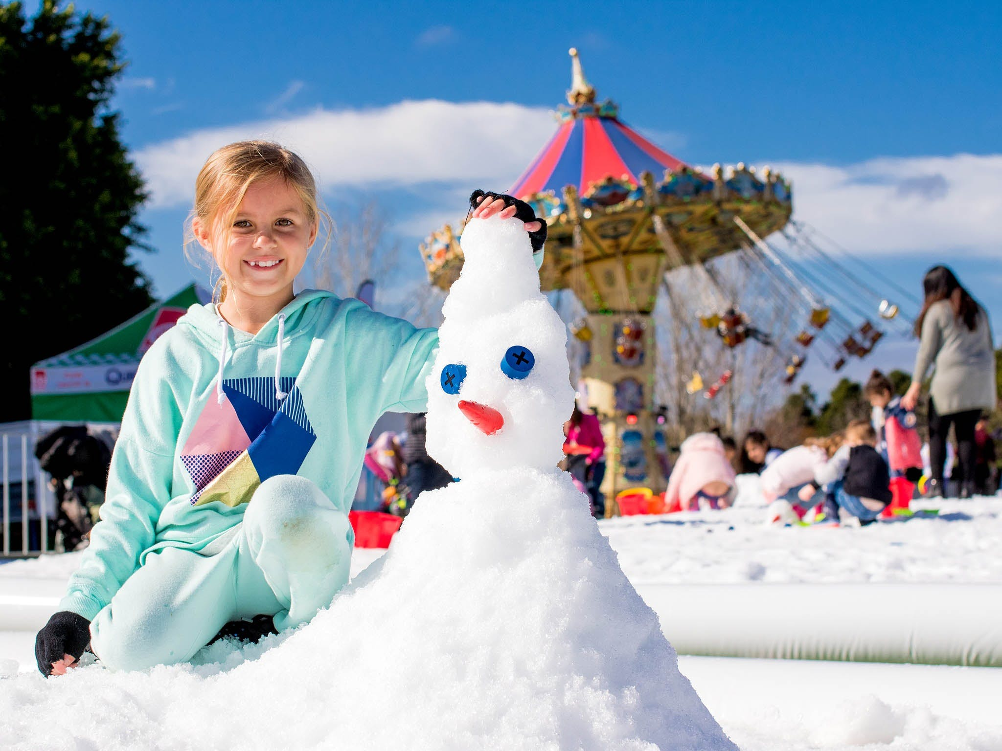 Snow Time in the Garden - Hunter Valley Gardens - Cancelled - Tourism Brisbane