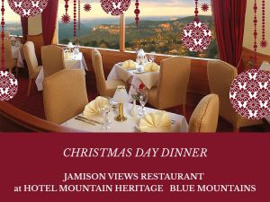 Christmas Day Dinner Hotel Mountain Heritage - Tourism Brisbane