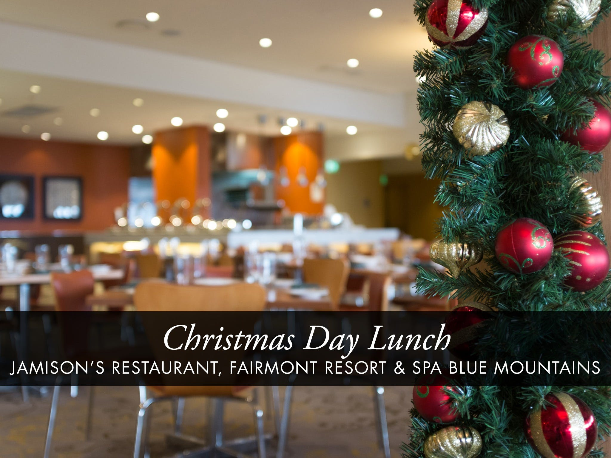 Christmas Day Buffet Lunch at Jamison's Restaurant - Tourism Brisbane