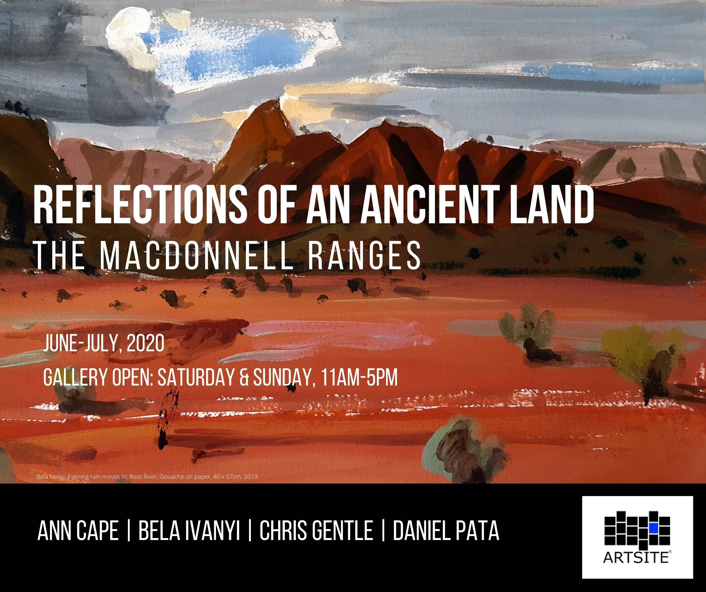 Reflections of An Ancient Land The MacDonnell Ranges - Tourism Brisbane