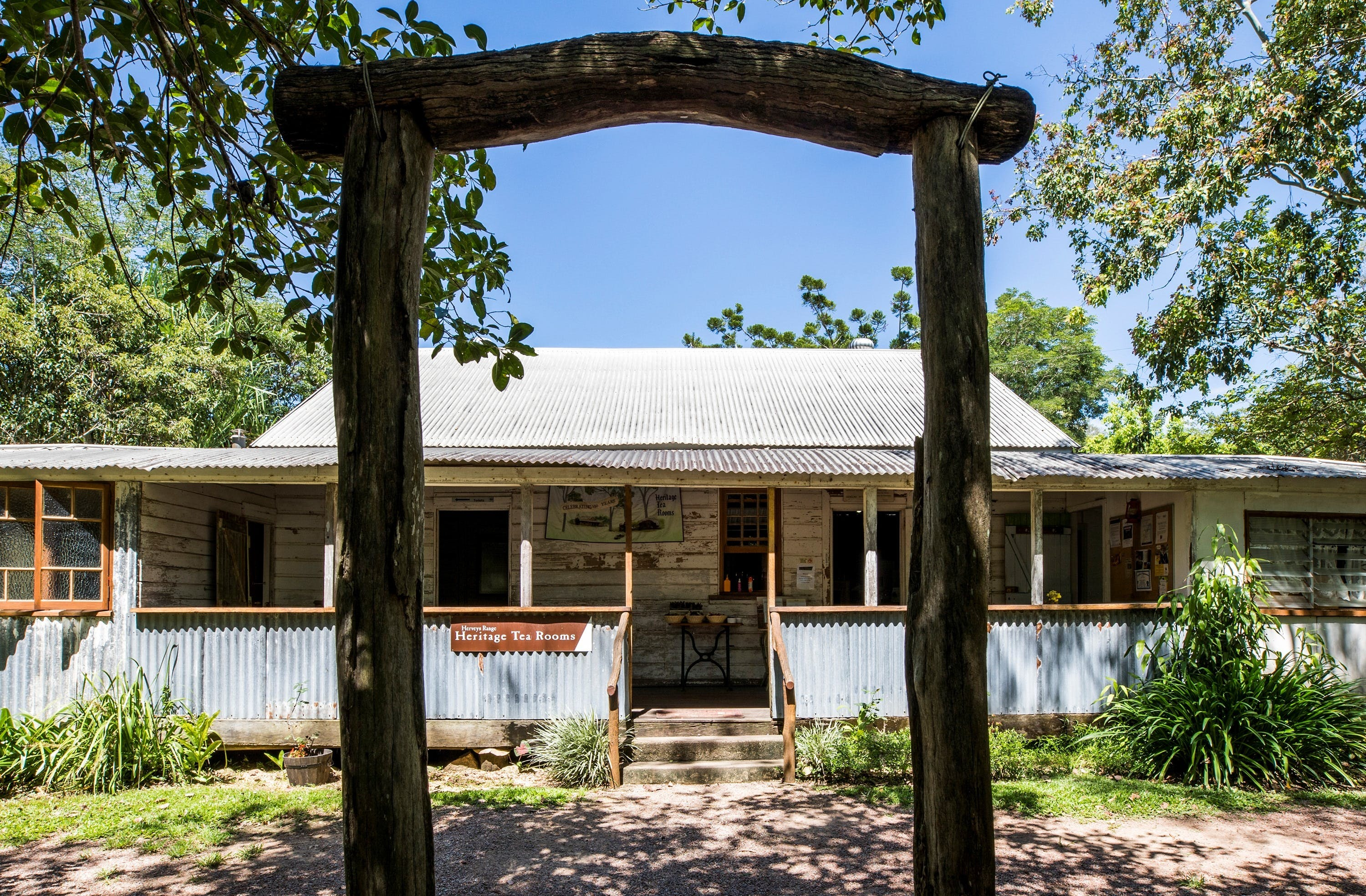 Herveys Range Heritage Tea Rooms - Tourism Brisbane